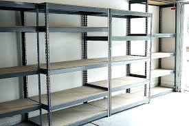 full size of heavy duty wall mounted garage shelving diy ideas cabinet metal shelves kids room