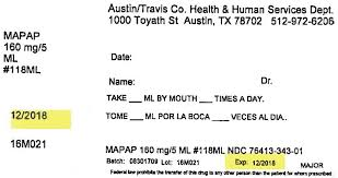 Ndc 76413 343 Childrens Mapap Acetaminophen