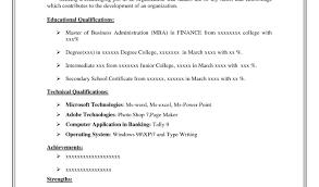 Hardware Technician Sample Resume Av Technician Resume