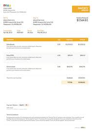 Get Invoice Template Word Template Images