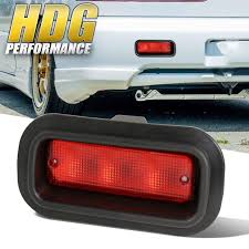 Jdm Rear Fog Light Details About Universal Jdm Edm Rear Fog Brake Stop Light Replacement Upgrade Red Lens