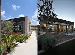 Creative Design 2 Modern Stone Home Designs Exterior Modern Stone House