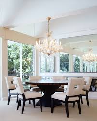 72 inch round dining table. 72-inch-round-dining-table-Dining-Room-Contemporary-with-beige-carpet-beige- Dining-chairs-chandelier-gold 72 Inch Round Dining Table
