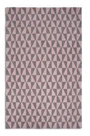 pastel pink geometric rug