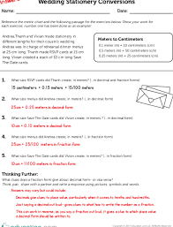 Minutes To 100ths Of An Hour Conversion Chart Converting Metric Measurements To Decimals Fractions