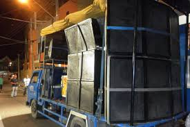 indian sound system truck. music truck 2 carnival in trinidad indian sound system