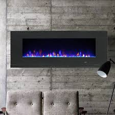 mirage wall mount electric fireplace