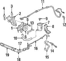 parts com® honda hose return partnumber 53734s30a00 1997 honda prelude base l4 2 2 liter gas p s pump hoses
