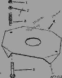 John Deere 1700 Planter Rate Chart Baffle Plate For High Rate Milo And Corn Hopper D11