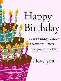 Happy Birthday To My Niece Quotes Impressive 48 Happy Birthday Niece Quotes And Wishes With Images