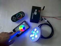 iphone controlled lighting. WiFi LED Controller Controlled By Touch Remote,Android Cellphone Or IPhone Mobile - YouTube Iphone Lighting