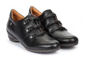 wedge shoe women black