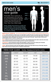 Mens Waist Measurement Chart Sizing Scody