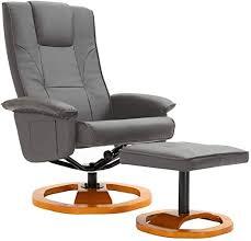 vidaXL <b>TV Armchair</b> Swivel <b>Foot</b> Stool <b>Television Chair</b> Relax ...