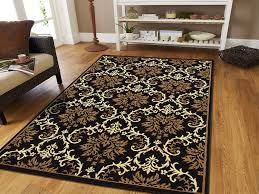 black and cream rug. Amazon.com: Large Luxury Contemporary Rugs 8x11 Blue For Living Room 8x10 Rug Washable Blues Black Ivory Soft Bedrooms Prime Clearance, And Cream