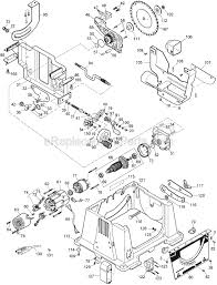 dewalt dw744 parts list and diagram type 3 ereplacementparts com