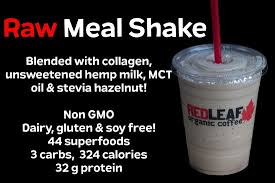 Red leaf has three great locations to serve you in woodland, longview and kelso, washington. Keto Friendly Raw Meal Shake Picture Of Red Leaf Organic Coffee Longview Tripadvisor