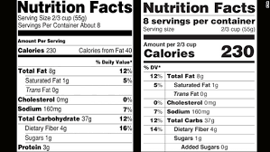 the feds create bs free nutrition label give americans reality check