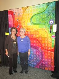 Sun Prairie Quilt Show & 2017 Best of Show Bed Quilt Sponsored by: Nancy's Notions Birds Fly By  Barbara Lies, Wheaton, ... Adamdwight.com