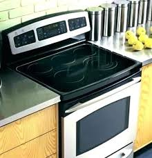glass stove top cover glass stove top cover outstanding kitchen electric ranges range oven for modern
