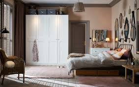 White ikea bedroom furniture Dark Room White Traditional Style Bedroom In Dusty Pink And Light Grey With Two White Wardrobes Side By Ikea Bedroom Furniture Ideas Ikea