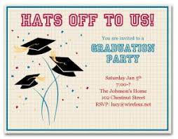 Printable Grad Party Invitation Template