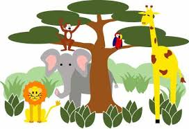 jungle animals border clipart. Brilliant Animals Zoo Border Cliparts 2946237 License Personal Use Inside Jungle Animals Clipart M