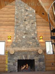 New England Fieldstone Thin Veneer has many different looks and uses. It  can be modern or eclectic. Here it helps to create an inviting rustic  environment.