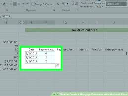 How To Create An Amortization Table In Excel Commercial Loan Amortization Schedule Excel Lease Calculator How To