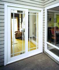 replace patio door replacing sliding door with french doors me for closet idea replace double pane