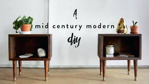 mid century modern bedside table. Midcentury Nightstand Mid Century Modern Bedside Table