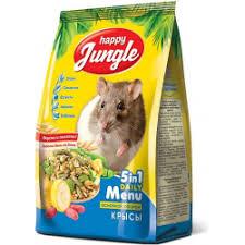 Отзывы о Корм сухой <b>Happy Jungle для</b> крыс