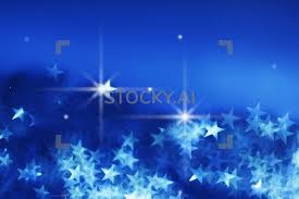 Sparkling Gif Of Blue Bokeh Background