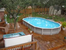 square above ground pool with deck. Full Size Of Uncategorized:in Ground Pools For Small Yards With Greatest Classy Double Square Above Pool Deck