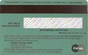 If you apply for a usaa visa signature credit card account and are approved for a credit limit less than $5,000 you'll automatically be considered for a platinum visa with the same terms and fees. Bank Card Usaa Usaa United States Of America Col Us Mc 0303