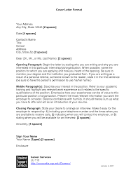 How To Format A Cover Letter Cv Resume Ideas