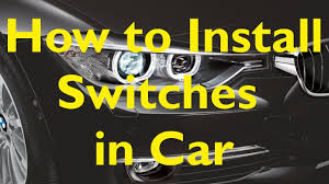 ★how to install switches in your car★ easy steps