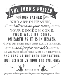 The Lord S Prayer Coloring Pages Printable With Quick Our Father For