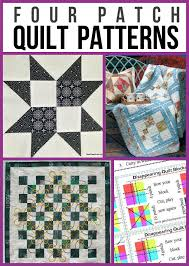 Four-Patch Quilt Patterns For Beginners & Four Patch Quilt Patterns Adamdwight.com