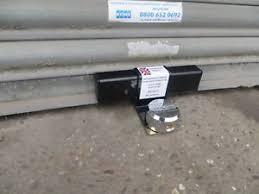 image is loading roller shutter garage door defender security lock kit