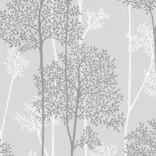 Graham & Brown Grey Eternal Wallpaper ...