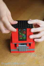 Lego Candy Vending Machine Mesmerizing How To Build A Lego Candy Dispenser Frugal Fun For Boys And Girls