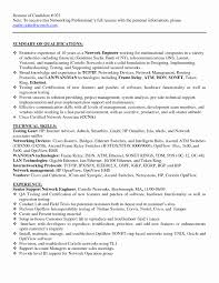 Networking Resume Resume Format For Hardware And Networking Engineer Awesome Sample 17