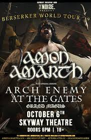 <b>Amon Amarth</b> — Skyway Theatre