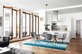 kitchen table sets bo: boconcept monza dining table amp adelaide chairs modern dining room