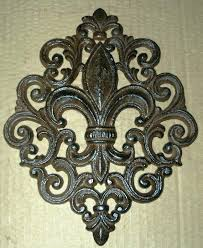 cast iron wall decor cast iron wall plaque art co french country new vintage cast iron wall decor
