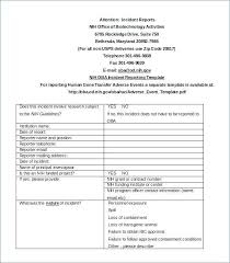 Resume Templates Free Word Biotech Resume Template Incident Report