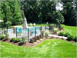 backyard fence ideas above ground pool fence ideas backyard wonderful backyard fencing ideas awful rustic pool