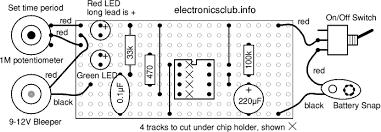 a 10 minute timer electronics club project 1 10 minute timer