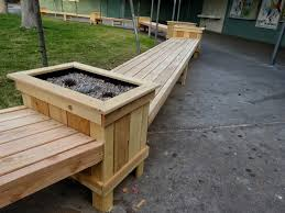 diy outdoor bench seat how build storage with upholstered lid wood plans better homes and gardens